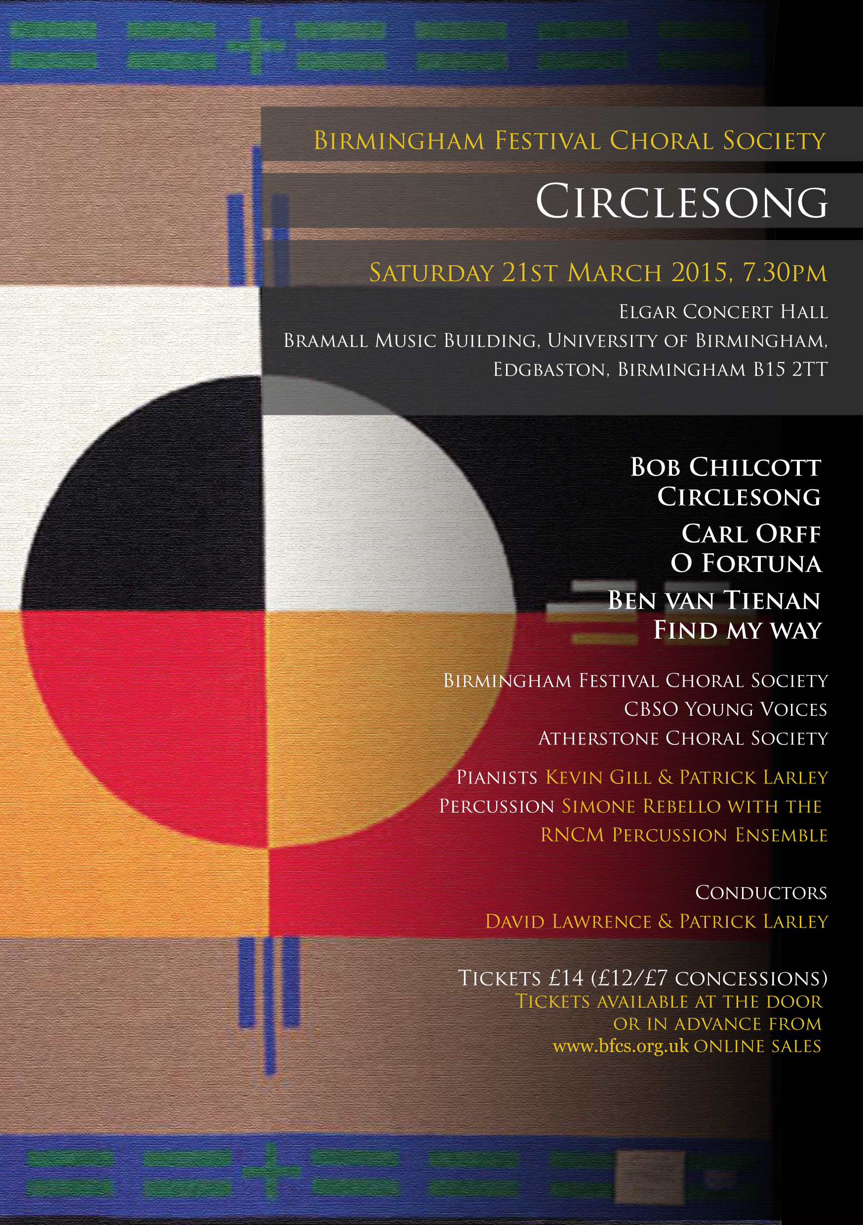 Circle song Flyer