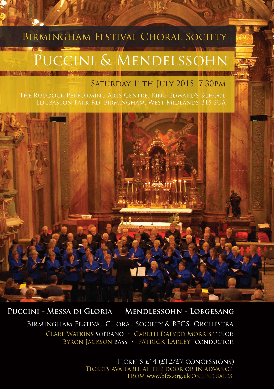 Puccini, Mendelssohn
