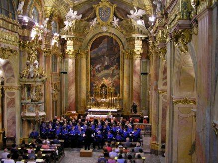 Concert in Trencin, Slovakia.