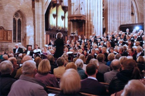 Messiah in St Laurence church, Ludlow.