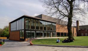 The Ruddock Performing Arts Centre.