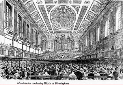 Premiere of Mendelssohn's 'Elijah', 1846.