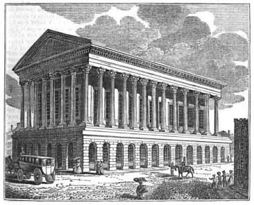 Birmingham Town Hall 1834
