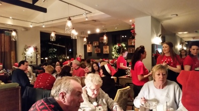 Christmas Jumpers and Carol singing evening at the Highfield, Edgbaston