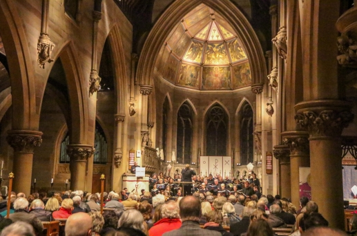 Bach's St John Passion at St Augustine's Church, Edgbaston, Birmingham.