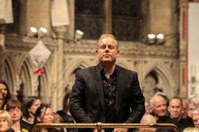 David Wynne, conductor.