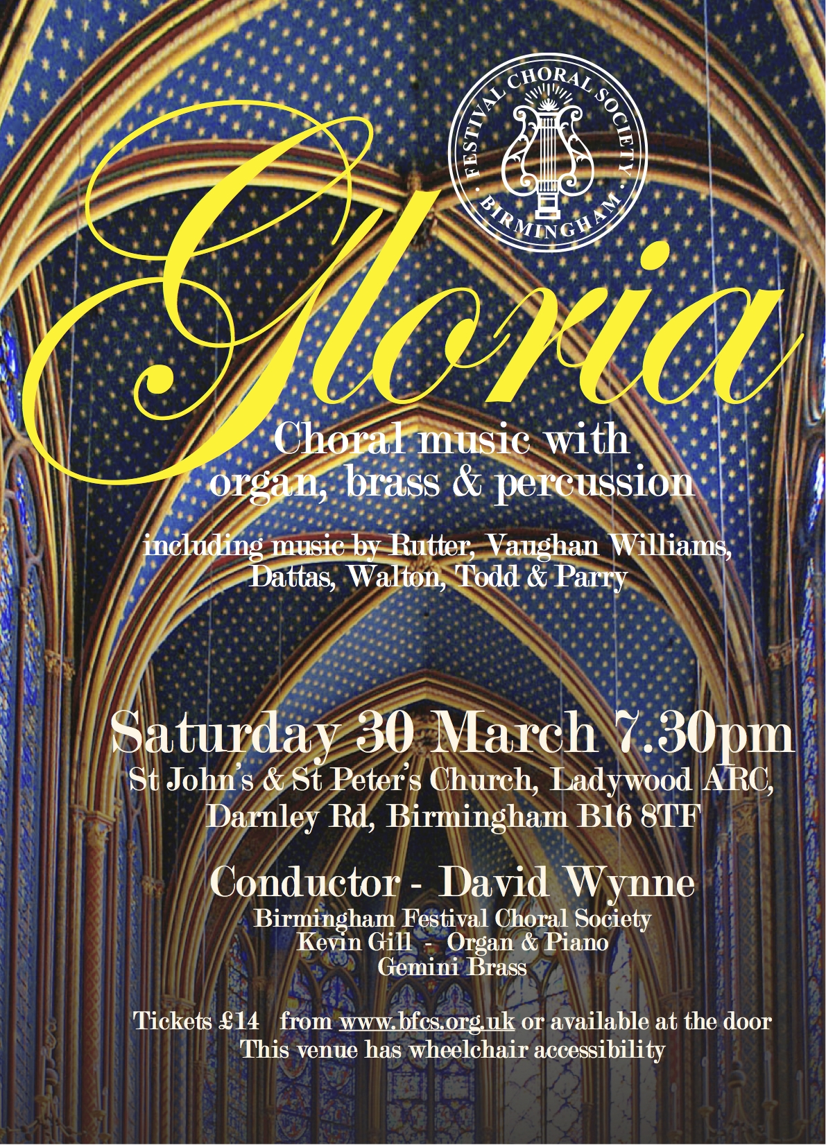 Gloria Full flyer